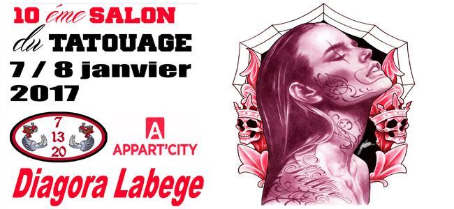 Toulouse Tattoo : Convention Internationale du Tatouage, 10ème édition