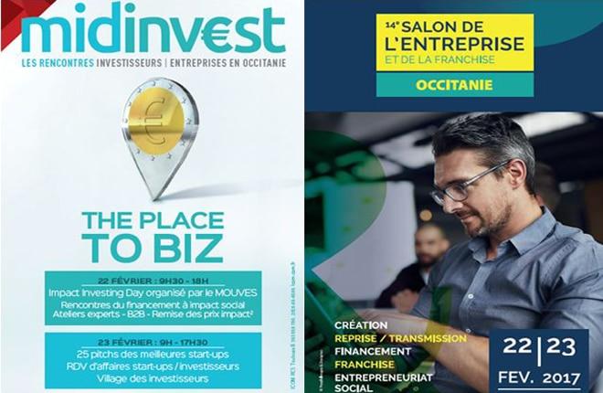salon Midinvest - Salon de l'Entreprise février 2017